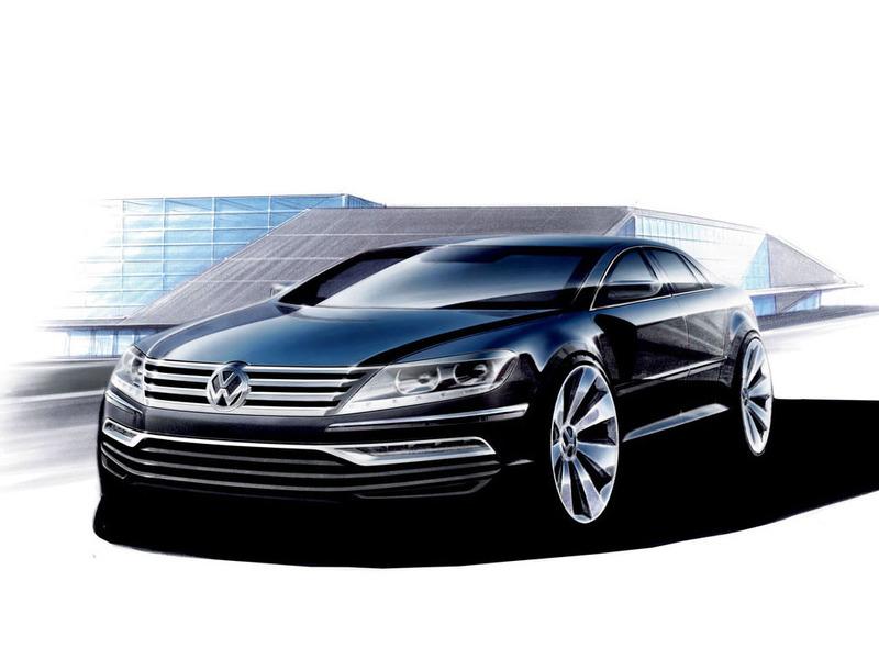 Volkswagen озадачил экспертов своими планами на представительский седан Phaeton