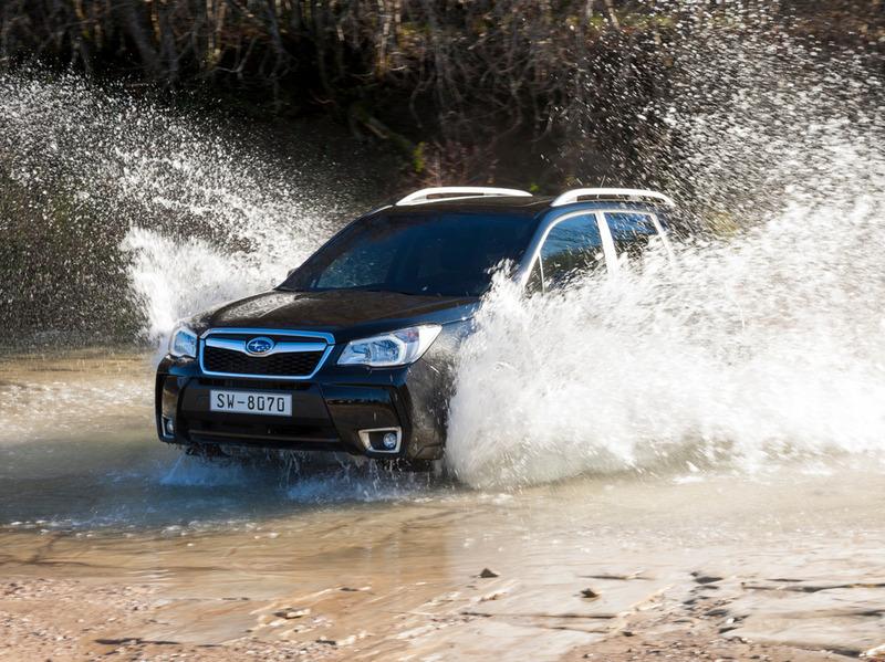 Subaru Forester получил обновленный дизель