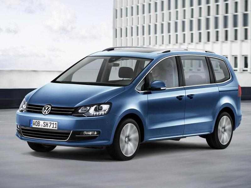 Обновление VW Sharan не принесет неожиданностей