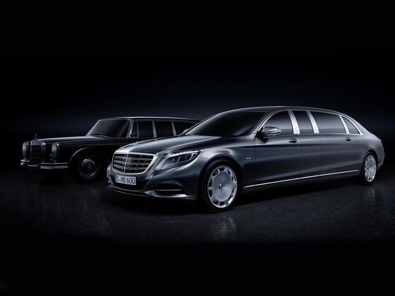 Mercedes представил лимузин Maybach