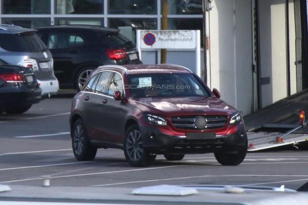 Новый кроссовер Mercedes GLC: внешность раскрыта
