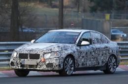 BMW тестирует на Нюрбургринге седан 1 серии