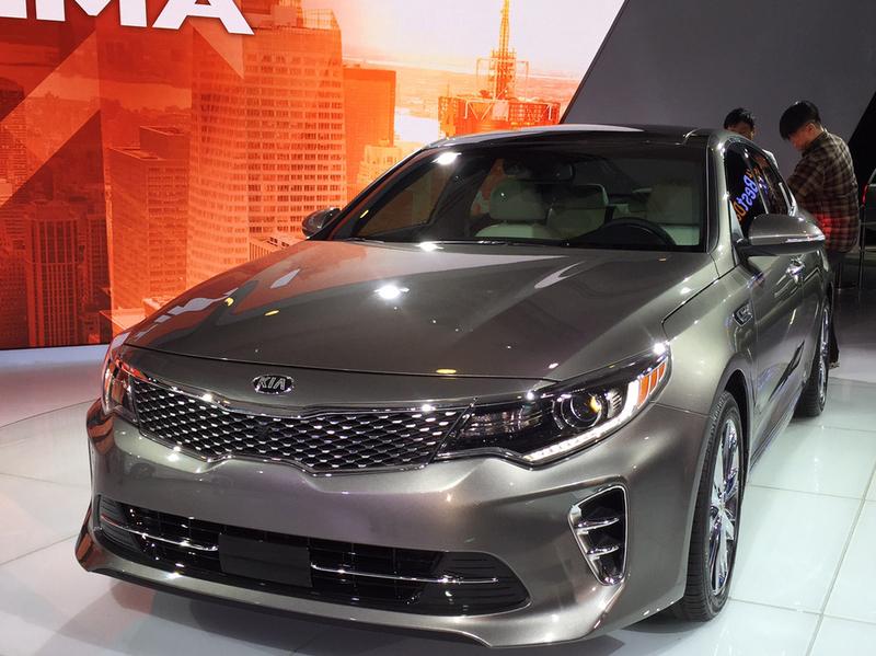 Новой Kia Optima прописали новый мотор и трансмиссию