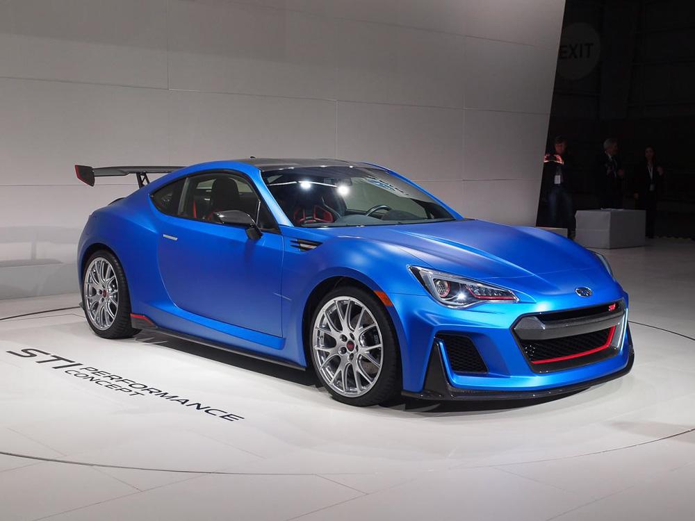 Subaru показала показала новую модель линейки STI