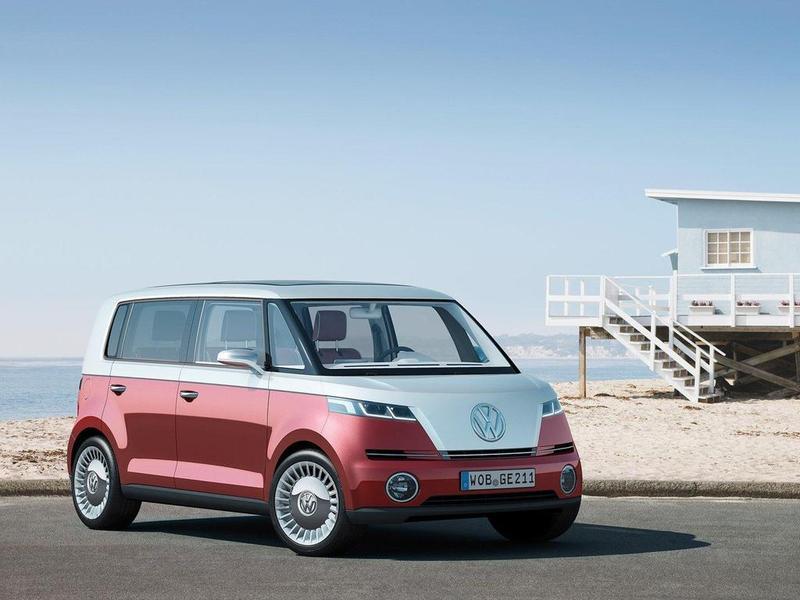 Volkswagen возродит культовый минивэн