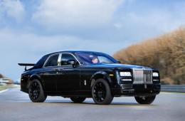 Внедорожник Rolls-Royce: первые фото прототипа
