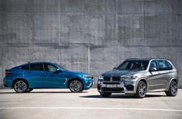 Начались российские продажи «горячих» кроссоверов BMW X5 M и X6 M