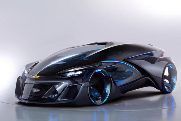Chevrolet показала беспилотный автомобиль будущего