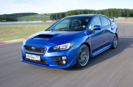Subaru позаботилась о безопасности и развлечениях в моделях WRX и STI