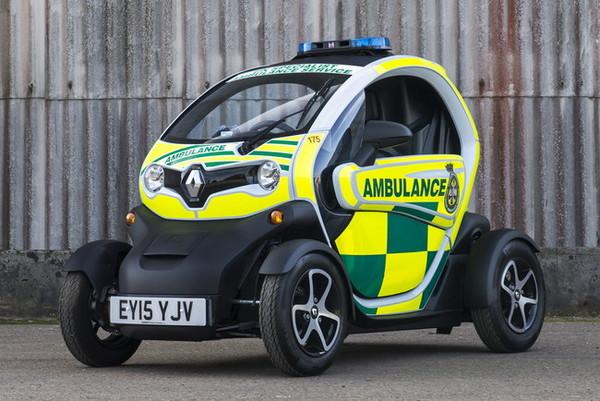 В Renault создали «скорую», которая доедет даже через пробки