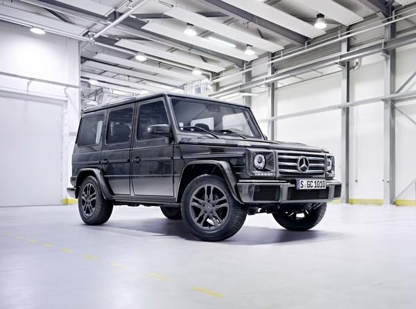 Mercedes-Benz показал обновлённый «Гелендеваген»