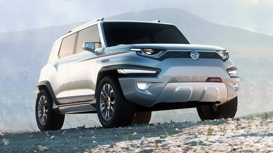 SsangYong выпустит на американский рынок конкурента Jeep Wrangler