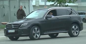 Кроссовер Mercedes-Benz GLC представили официально