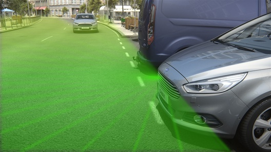 Ford научил свои автомобили заглядывать «за угол»