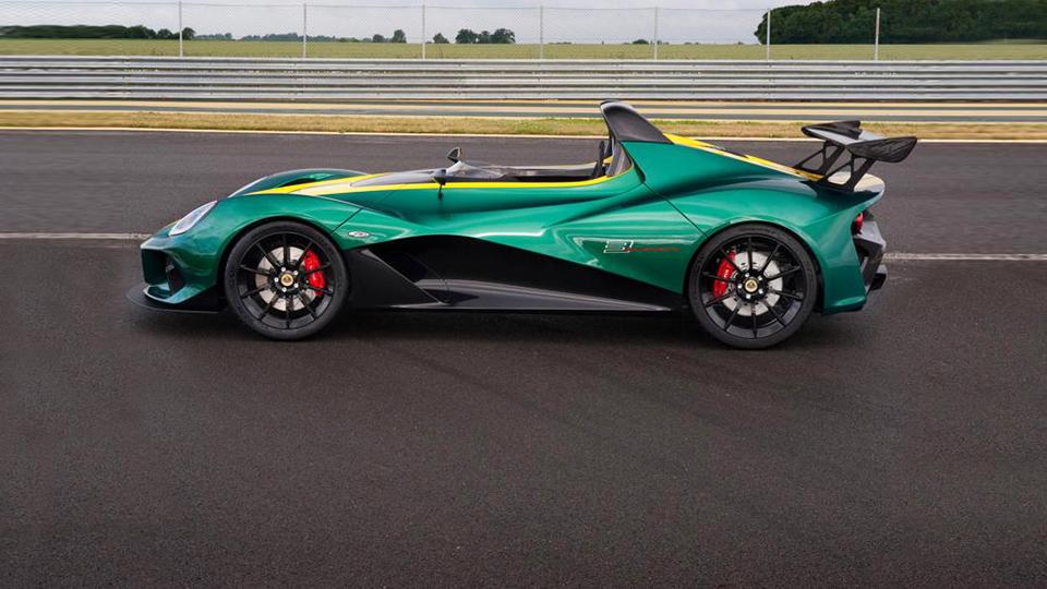 Компания Lotus показала быстрейшую модель в своей истории