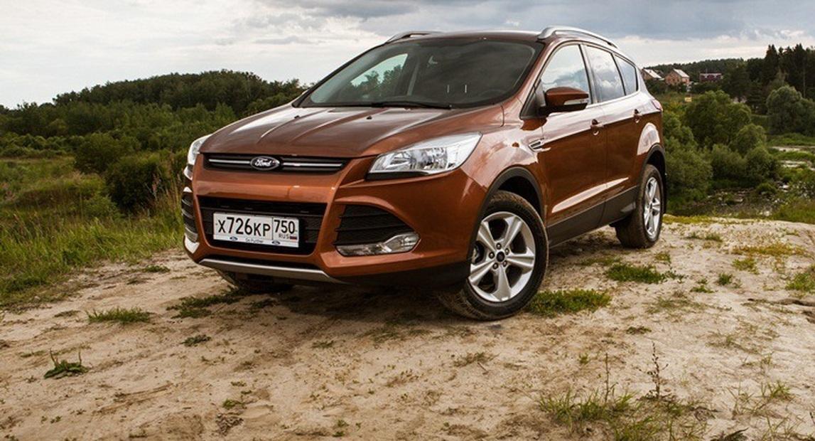 Из России уехал дизельный Ford Kuga