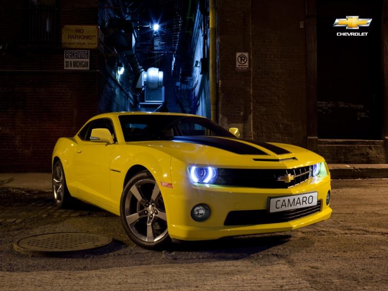 В предвкушении нового Chevrolet Camaro