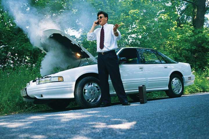 Эксплуатация автомобиля летом