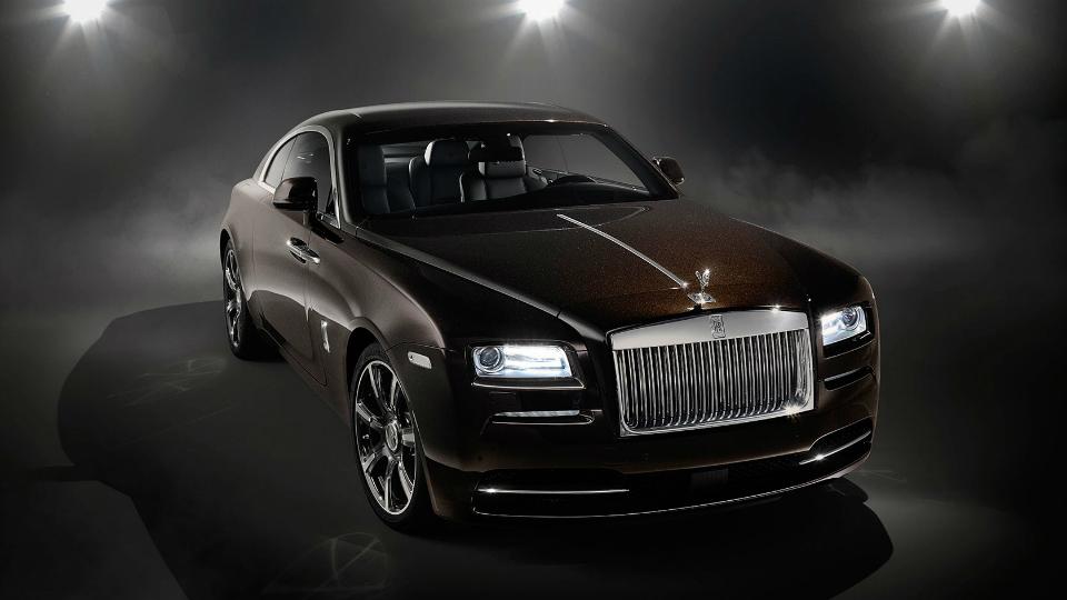 Rolls-Royce представил «музыкальное» купе Wraith