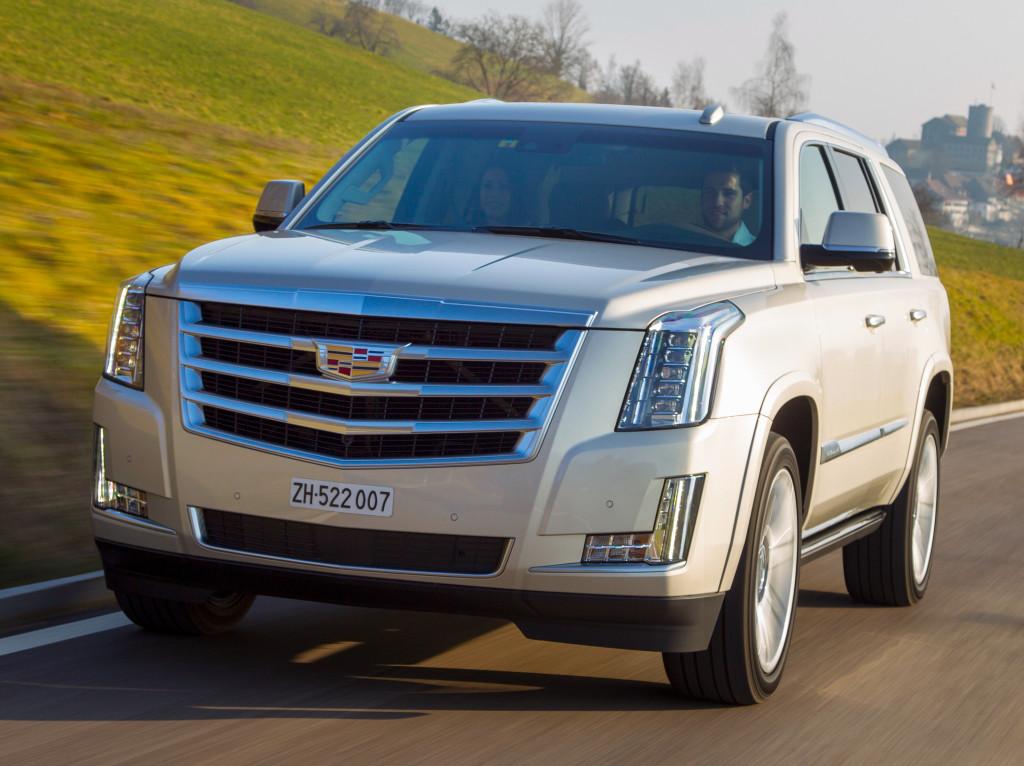 Cadillac Escalade получит «горячую» версию