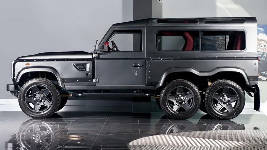 Шестиколесный Land Rover Defender выставили на продажу