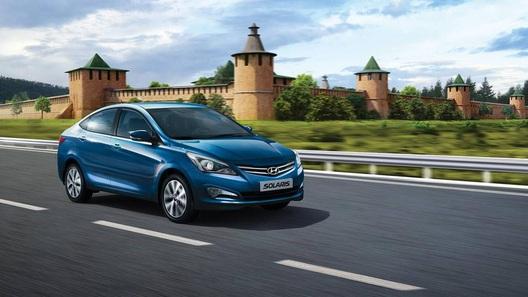 В России поставлен рекорд продаж Hyundai Solaris