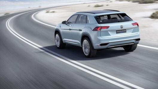 VW Tiguan превратится в заряженное купе