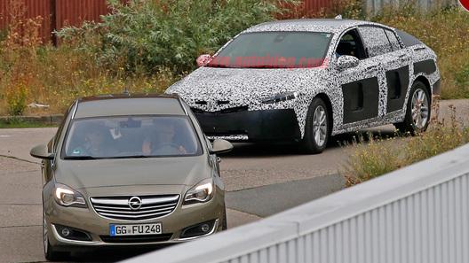 Новое поколение Opel Insignia станет «супер-лифтбеком»