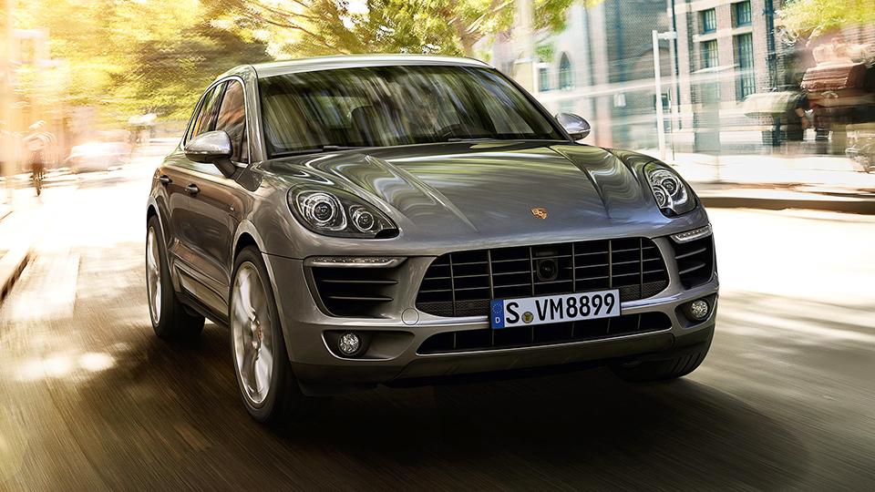 Porsche привезет в Россию дизельный Macan