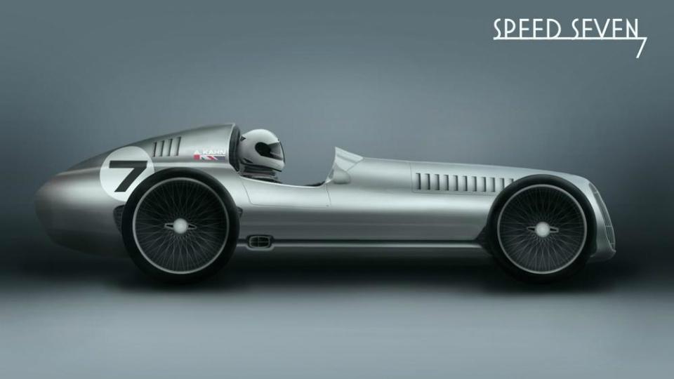 Ателье Kahn выпустит гоночную машину в стилистике 1930-х