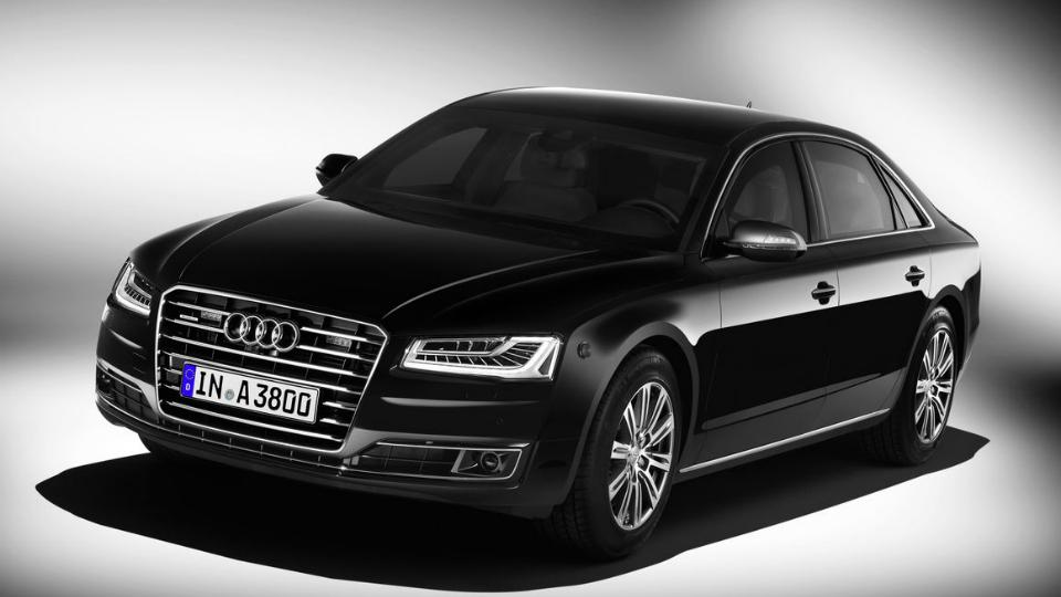 Представлена самая защищенная машина Audi в истории