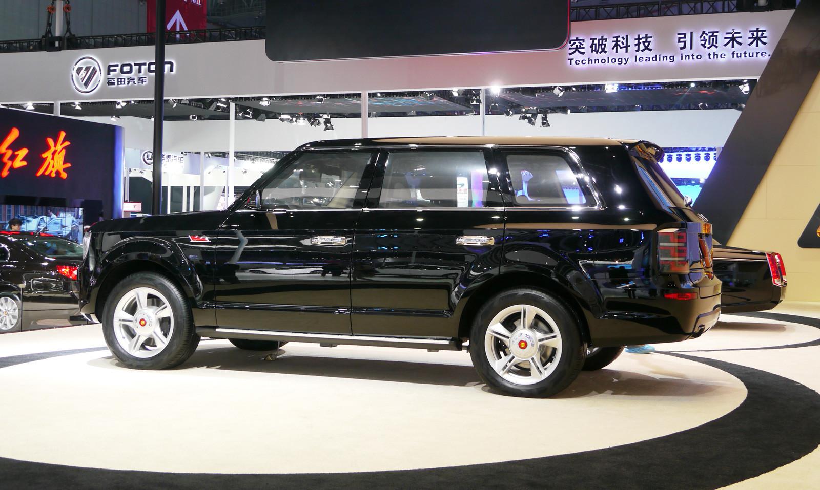 «Внедорожник для генсека»: в Китае выпустили конкурента Audi Q7