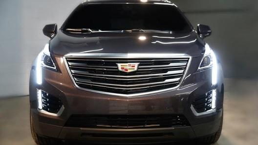 Cadillac начал рассекречивать очередной кроссовер