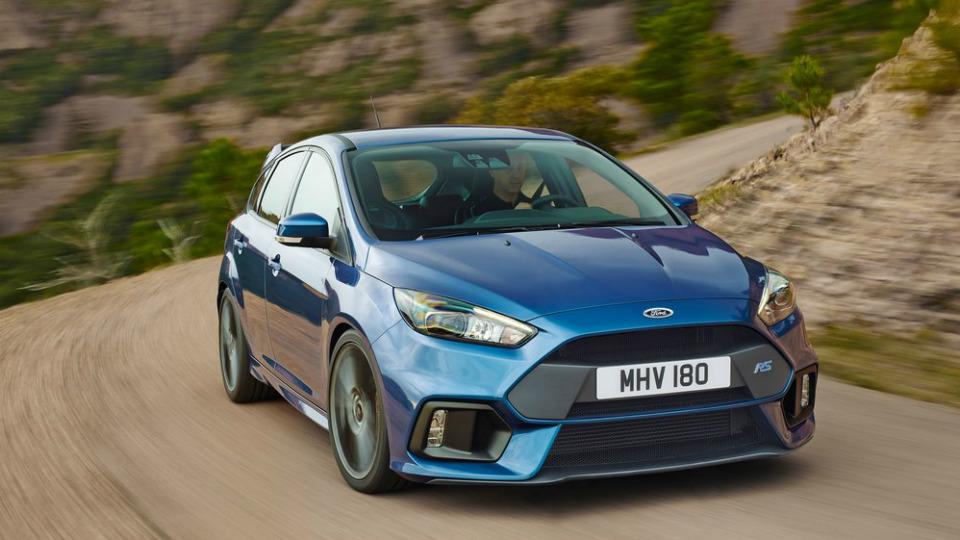 «Заряженный» Focus стал самой быстрой RS-моделью «Форда»