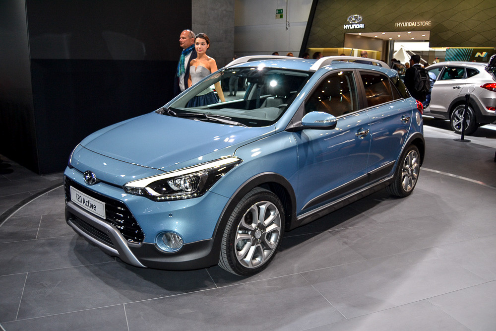 Маленький хэтчбек Hyundai: показана «внедорожная» версия
