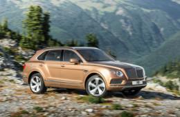 Внедорожник Bentley оснастят часами за 170 тысяч долларов