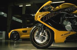 «Мерседес» и MV Agusta выпустили спортбайк в честь купе AMG GT