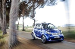 Электрокары Smart получат французские моторы