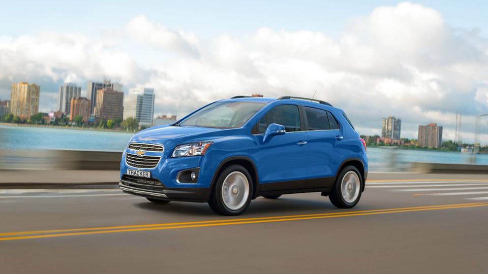 Компания Chevrolet начала российские продажи кроссовера Tracker
