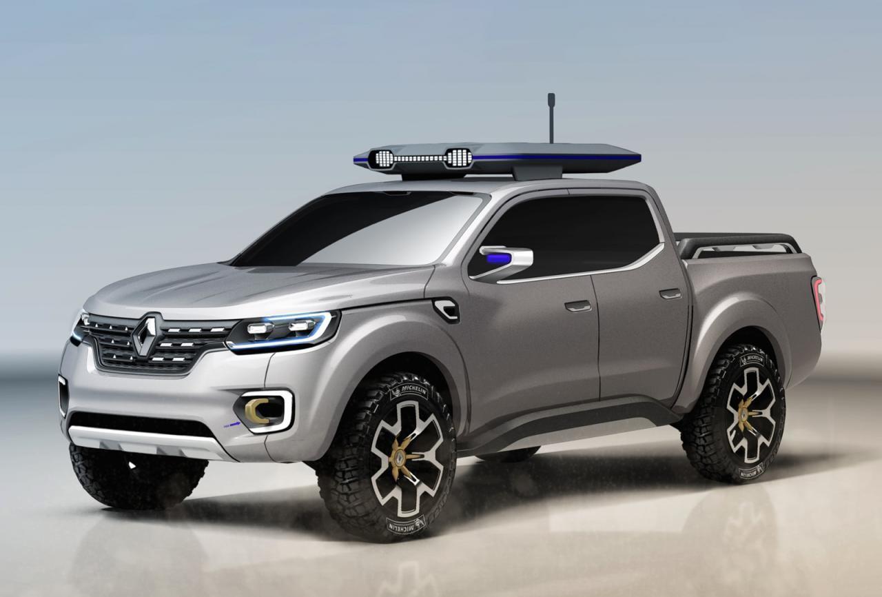 Renault сделала новый большой пикап