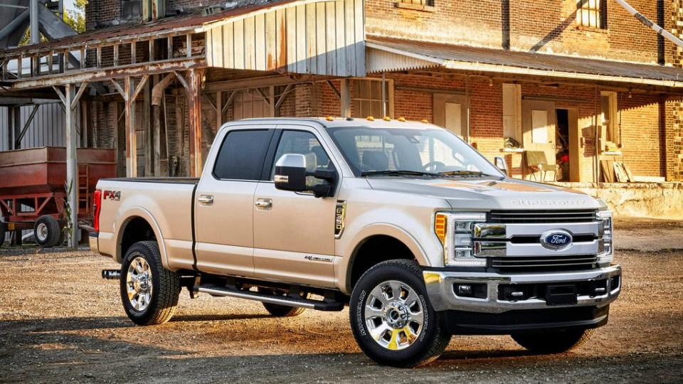 Флагманские пикапы Ford получили алюминиевый кузов