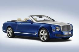 Bentley выпустит большой кабриолет в 2016 году