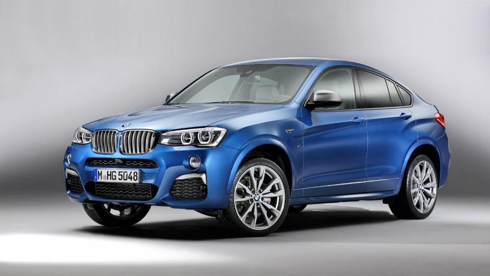 Кроссовер BMW X4 получил «заряженную» версию