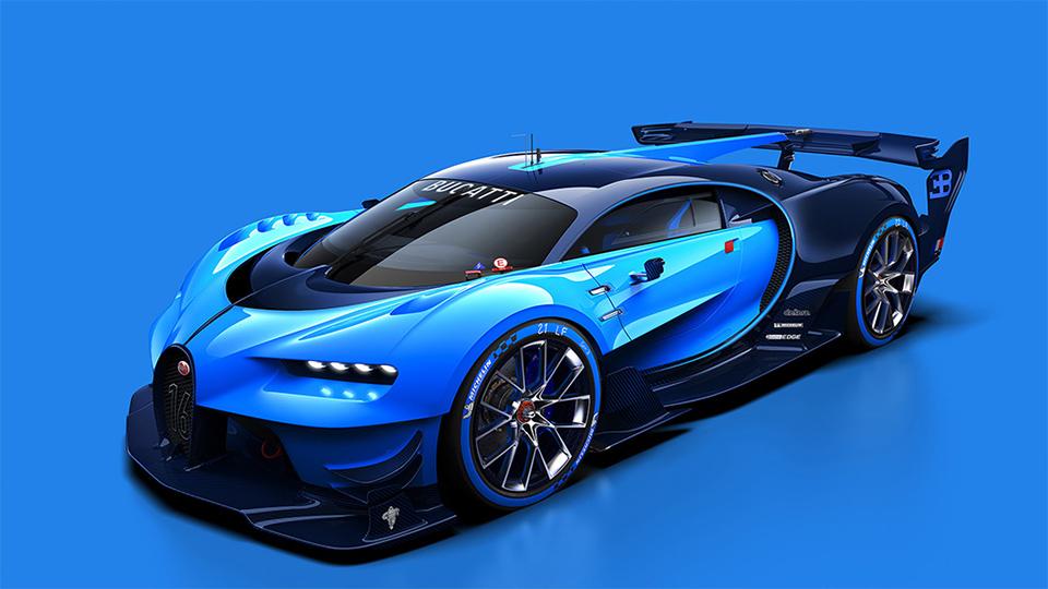Компания Bugatti рассекретила виртуальный суперкар