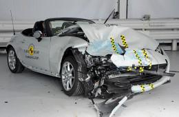 Mazda MX-5 осталась без высшего балла на европейском краш-тесте