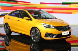 Китайцы из Chery показали свой новый седан