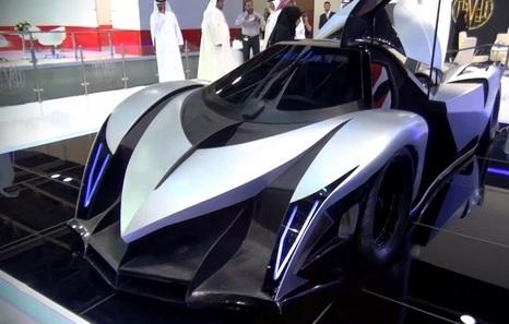 Мотор нового арабского гиперкара развил больше 4500 л.с.