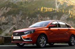 Lada Vesta стала хитом продаж ноября
