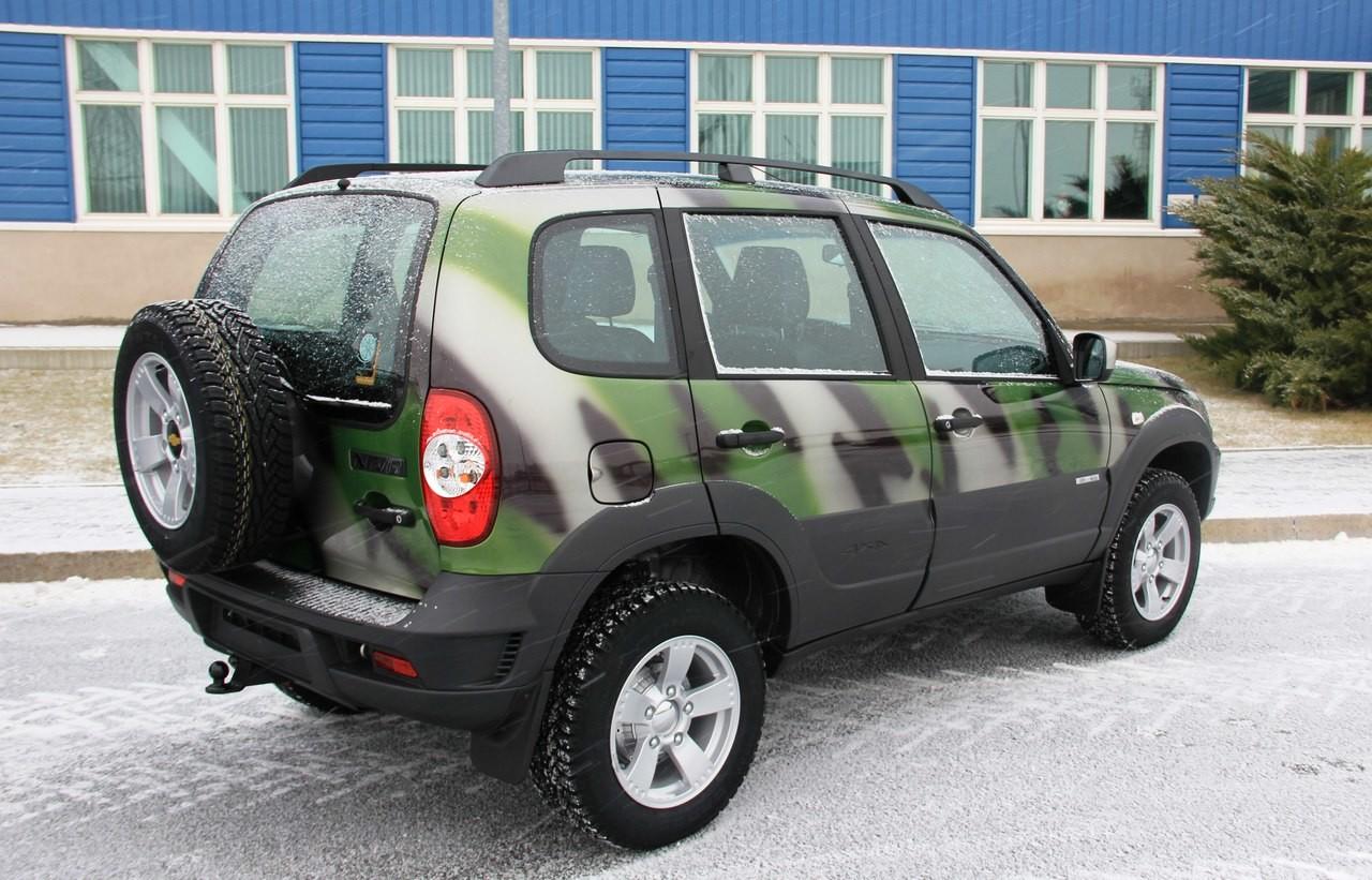 У Chevrolet Niva может появиться «боевая» версия