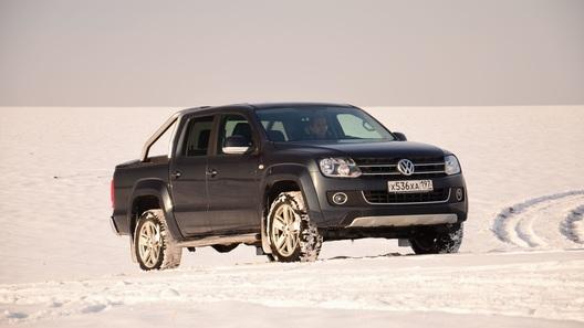 Главный пикап VW готовится к рестайлингу